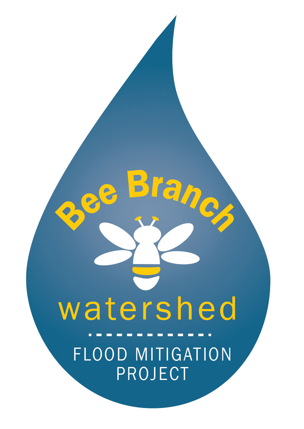 Bee Branch Project Logo