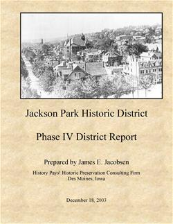 Jackson Park Historic Phase IV