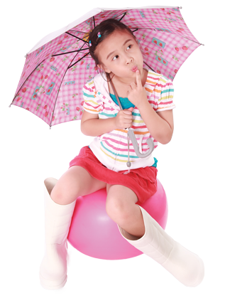 girl-sitting-umbrella