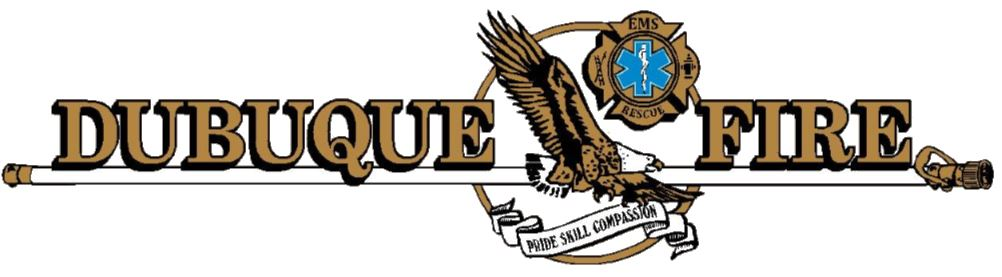 Dubuque Fire Department Logo