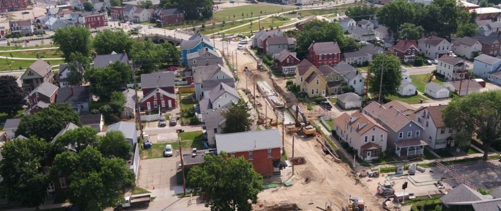 22nd St. Storm Sewer Construction
