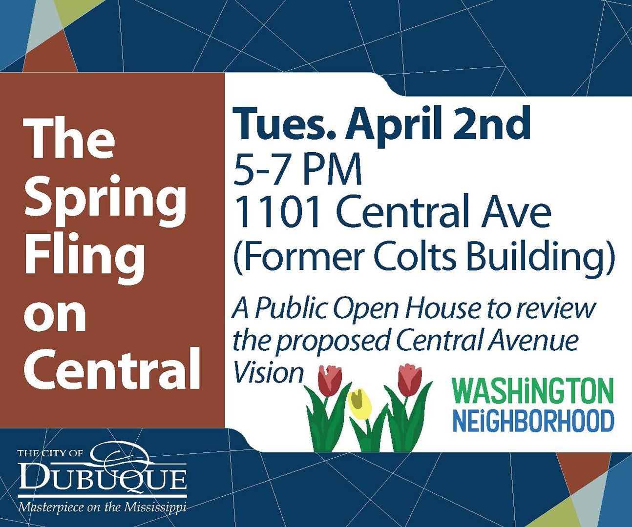 Central Avenue Spring Fling Event Graphic
