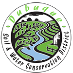 dubuque soil and water conservation logo