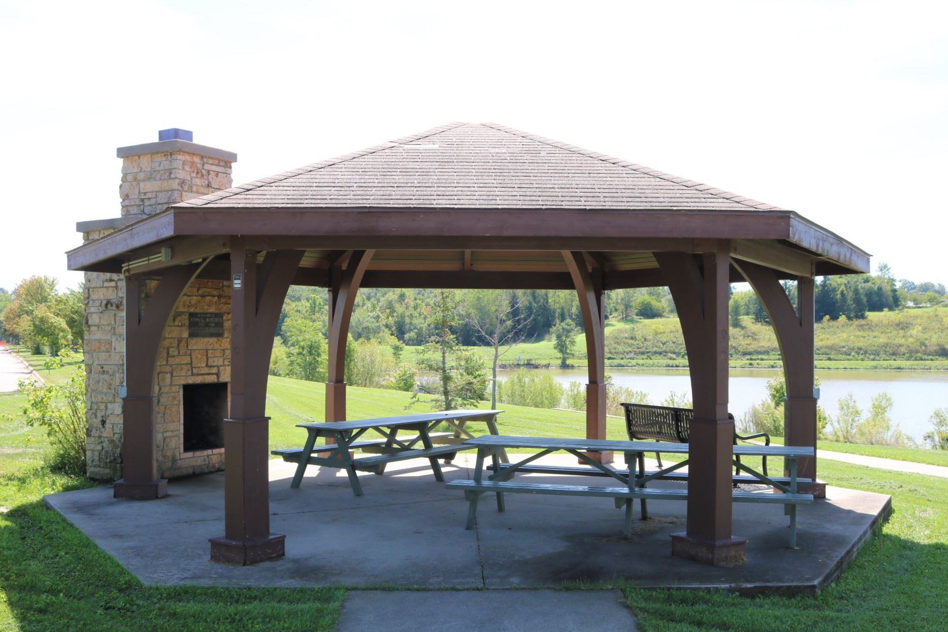Bergfeld Recreation Area Pavilion Available for Rent