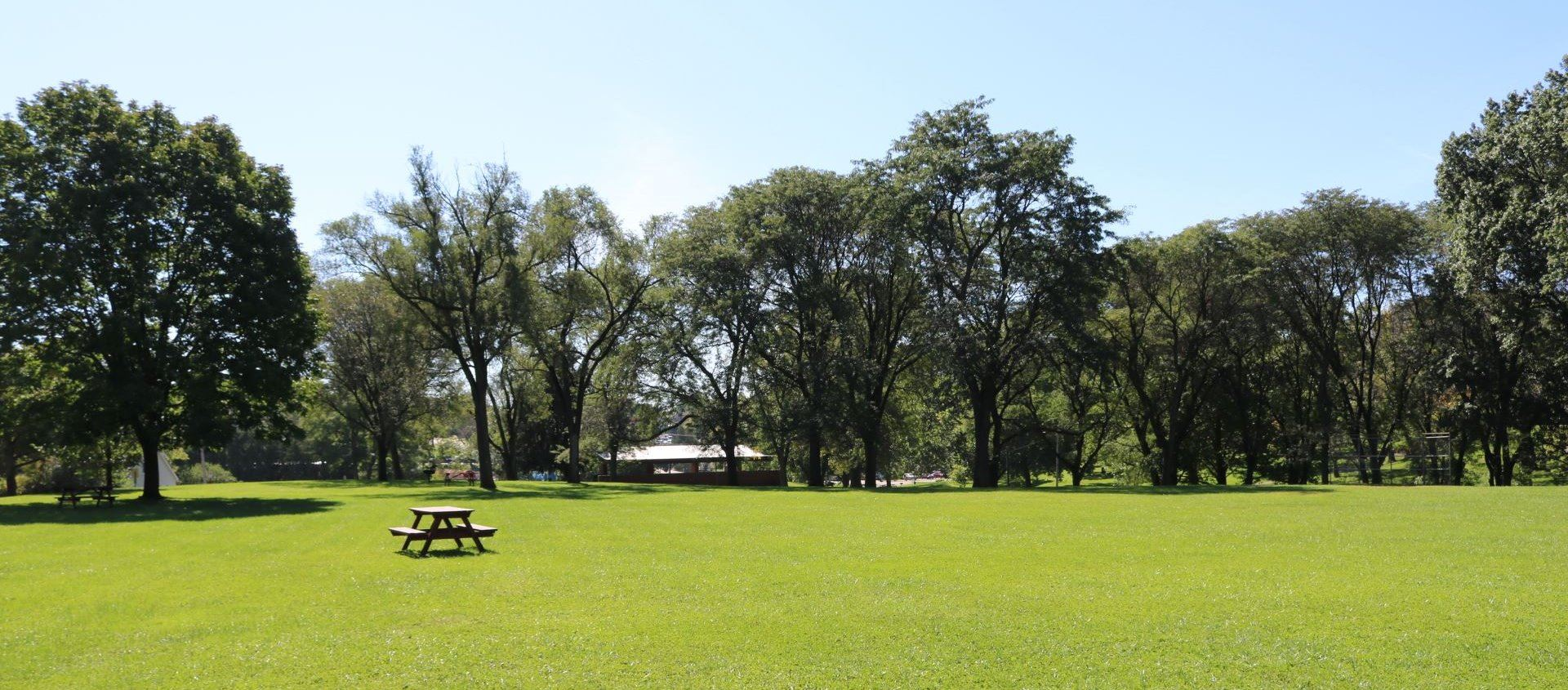 Flora Park is a 35 acres park with plenty of multipurpose green space.