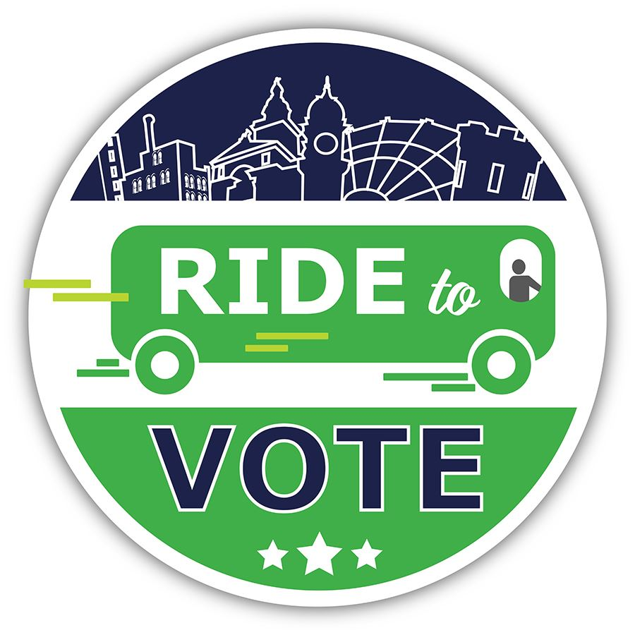 Ride to Vote Logo