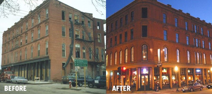 299 Main Street -  Before and After