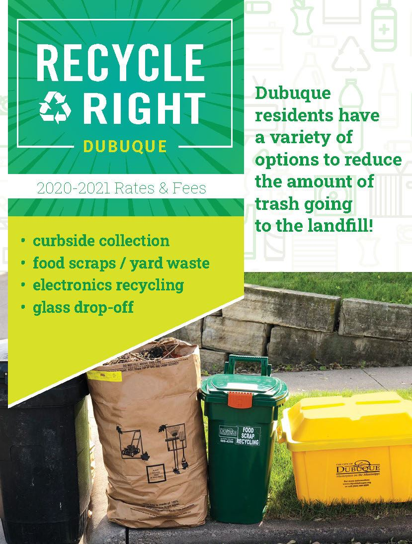 Trash and Recycling Brochure
