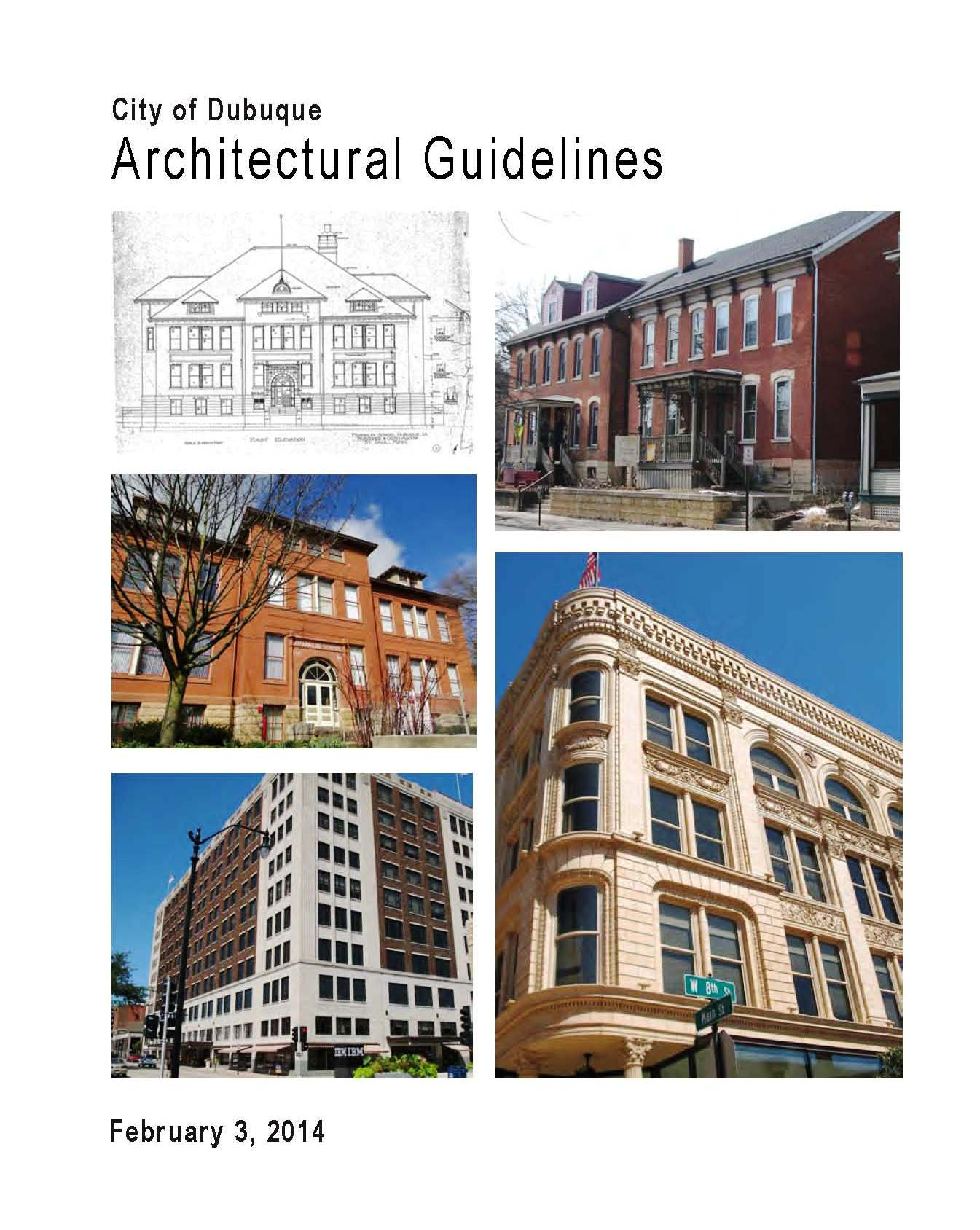 Architectural Guidelines Opens in new window